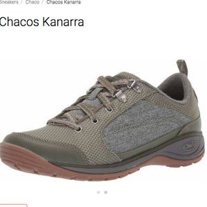 Chaco Olive Green Kanarra Hiking Outdoor Shoes 9